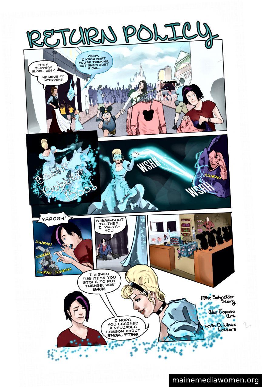 (Geschichte von Mike Schneider | Kunst von Alex Zapata | Briefe von Kevin D Lintz)