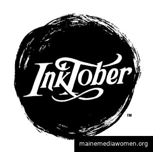 Inktober ist nur eine von vielen Online-Kunstherausforderungen. (Bildnachweis: Jake Parker)