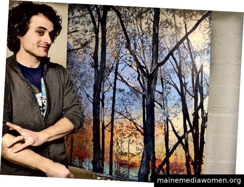 Charlie Buckley ist ein Ölmaler aus Central Mississippi. Er hat an Orten wie der University of Mississippi, dem Arkansas Children´s Hospital und dem Baptist Memorial Hospital gearbeitet.
