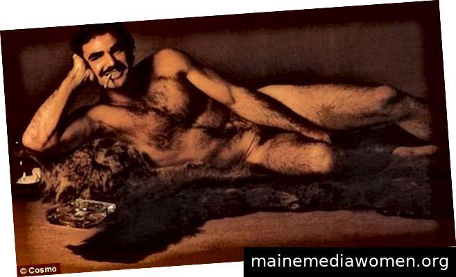 Francesco Scavullo, Burt Reynolds, Fotografie, 1972