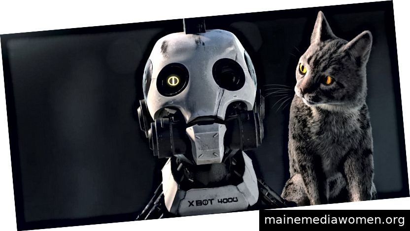 Liebe, Tod + Roboter |