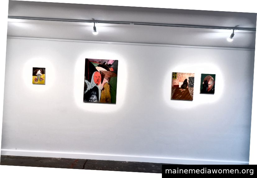 Install Shot, Realms of the (Un) Real, PUBLIC Galerie, 2019