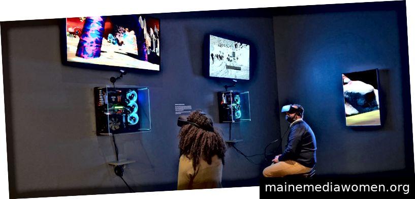 Neue Medienkunst in Galerien - Bildquelle