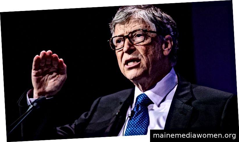 """""""Als John D. Rockefeller die Rockefeller Foundation gründete […], verurteilte der ehemalige Präsident Theodore Roosevelt die Angelegenheit und sagte:"""" Keine Wohltätigkeitsorganisation, die solche Vermögen ausgibt, kann das Fehlverhalten ihrer Übernahme in irgendeiner Weise ausgleichen. """"Aber seitdem haben wir Ich habe mich bei den Reichen auf Philanthropie erwärmt. Das liegt zum Teil daran, dass einige prominente Milliardäre es außergewöhnlich gut gemacht haben. Bill Gates und Warren Buffett sind zwei Namen, die in jedem Gespräch über Milliardär-Philanthropie und ihre Arbeit zu öffentlicher Gesundheit, Impfprogrammen und globaler Entwicklung in den Sinn kommen, haben Millionen von Leben gerettet """", schreibt Kelsey Piper in der Familie Sackler Opioide - und Museen lehnen ihre Spenden ab. (Foto von Jack Taylor / Getty Images)"""