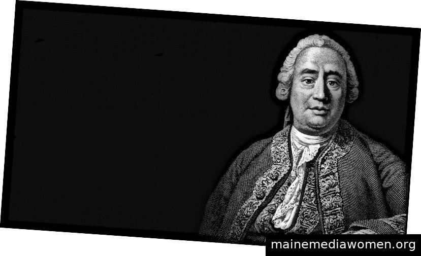 """Für den Aufklärungsphilosophen David Hume waren die alten und mittelalterlichen Gewohnheitsinterpretationen viel zu einschränkend. Hume hat die Gewohnheit über das, was es befähigt und befähigt, als menschliches Wesen zu begreifen. Er kam zu dem Schluss, dass die Gewohnheit der """"Zement des Universums"""" ist, von dem alle """"Vorgänge des Geistes… abhängen""""."""