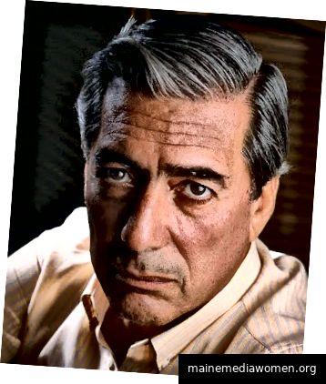 Mario Vargas Llosa - Fotografie - Alex Waterhouse-Hayward