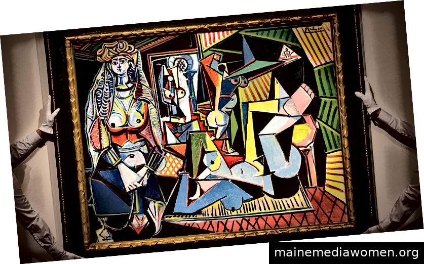 Les femmes d'Alger von Picasso, über Christies