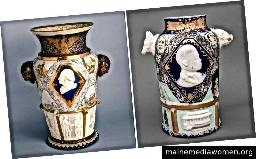 Karl L. Müller, The Century Vase, 1876; Roberto Lugo, Wege und Prüfungen: Eine Jahrhundertreise zu einem Traum