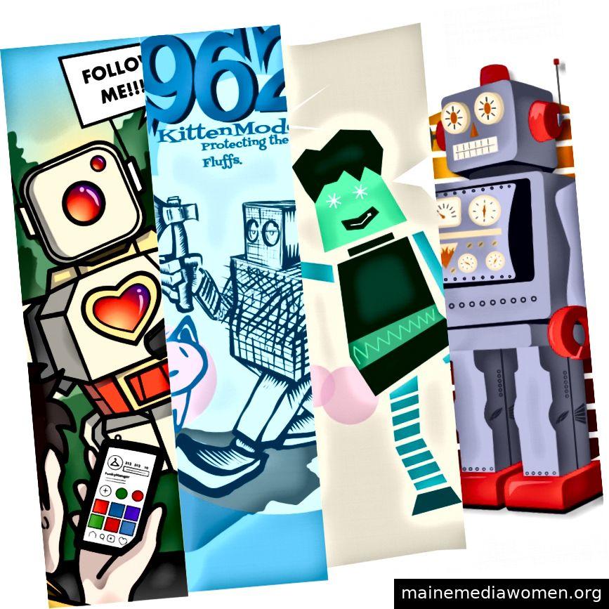 Entwerfen Sie einen Roboter.