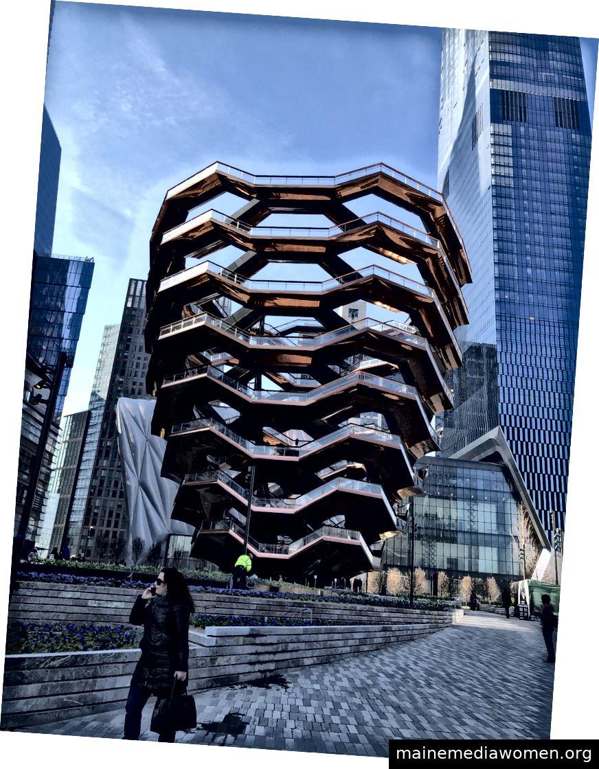 Das Schiff, Hudson Yards NYC