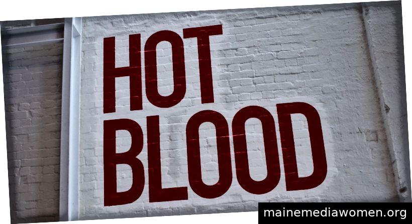 Hot Blood in der White Rabbit Gallery