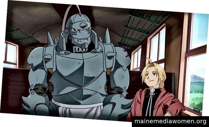 Alphonse und Edward Elric