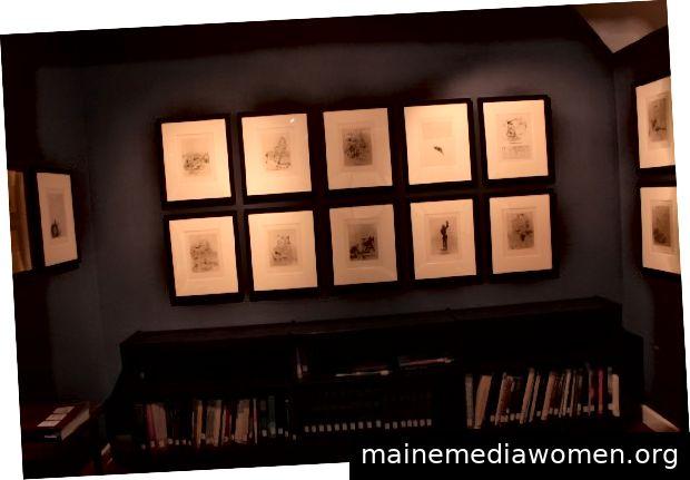 Salvador Dalí-Museum Oglethrope 2019 drucken Mappen von Comte De Lautréamonts Les Chants de Madoror und Dante Alighieris The Divine Comedy 1930