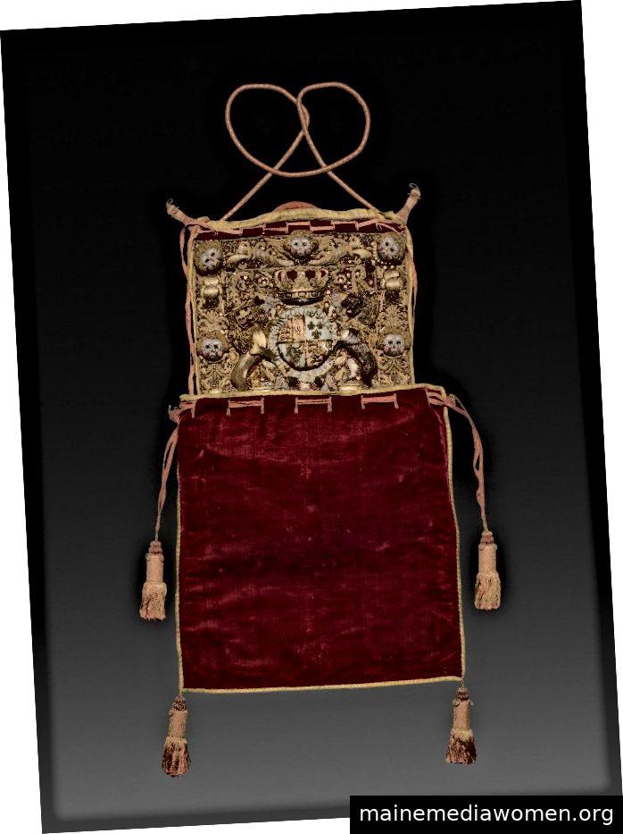 Lord Chancellors Burse aus der Regierungszeit von George III., Geschenk von Jeptha H. Wade II., Cleveland Museum of Art 1916.366