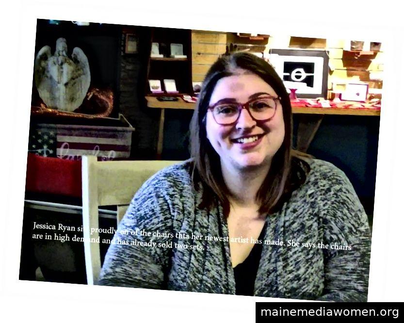 Jessica Ryan, Besitzer von Handcrafted
