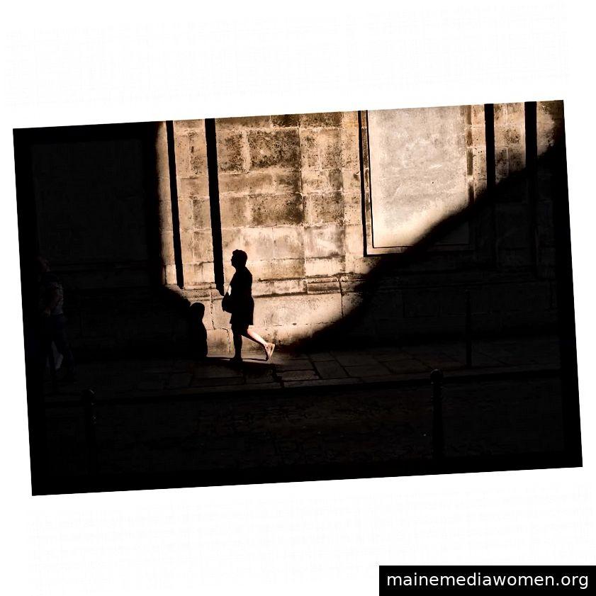 Fragmentierte Straße ©