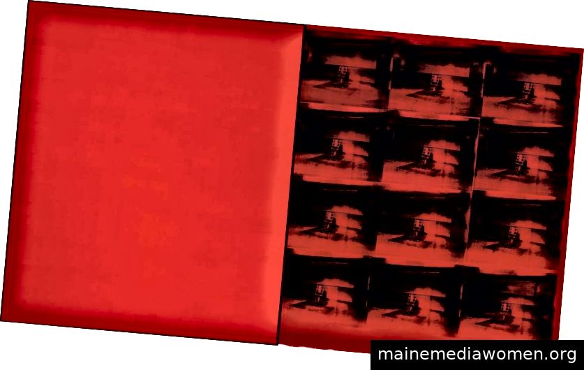 Red Disaster, 1963, Andy Warhol