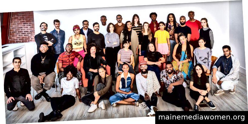 Die 52 ausgewählten Künstler. © Scott Rudd Events / Der Schuppen. Foto: Scott Rudd.