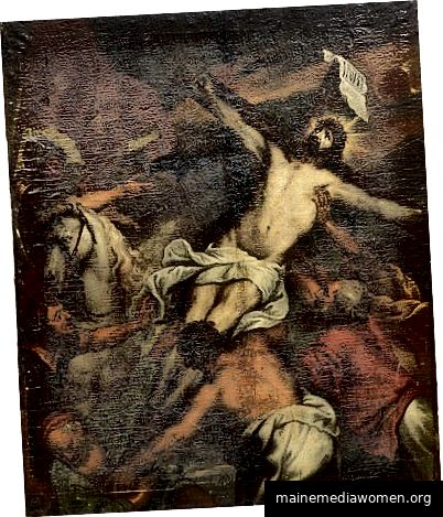Nach Sir Anthony van Dyck (1599–1641) Entfernung des Kreuzes Öl auf Leinwand 140 x 120 Privatsammlung