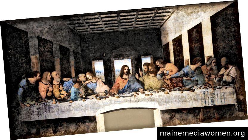 Das letzte Abendmahl - Leonardo Da Vinci (Bildnachweis)