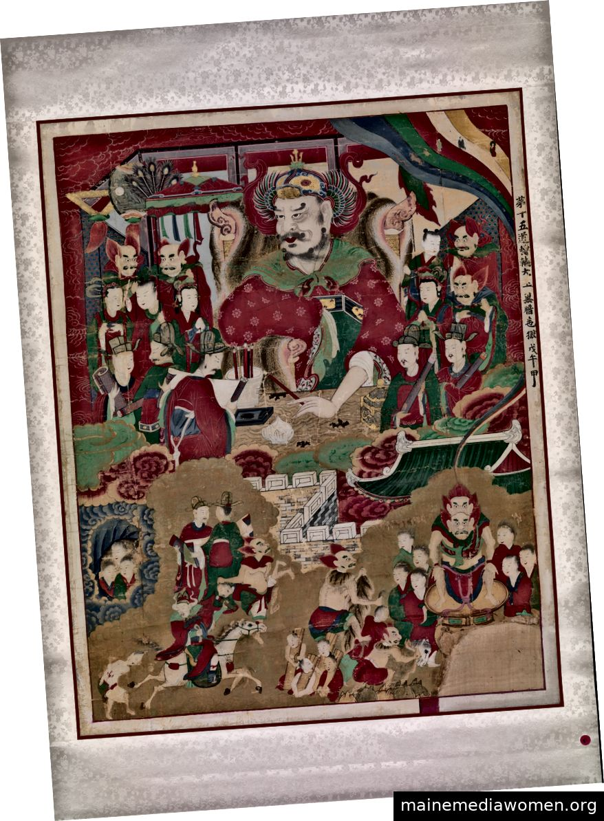 Der zehnte König der Hölle, Unknown (Korean), 1798