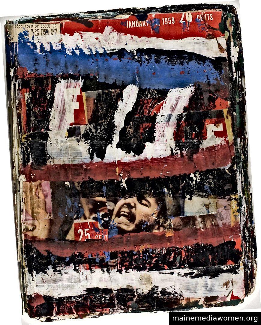 Ohne Titel, Al Held, 1959