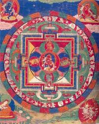 Mandala farbige Designs