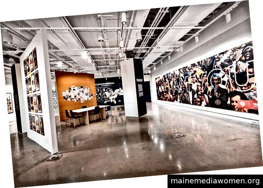 Layout der Ausstellung