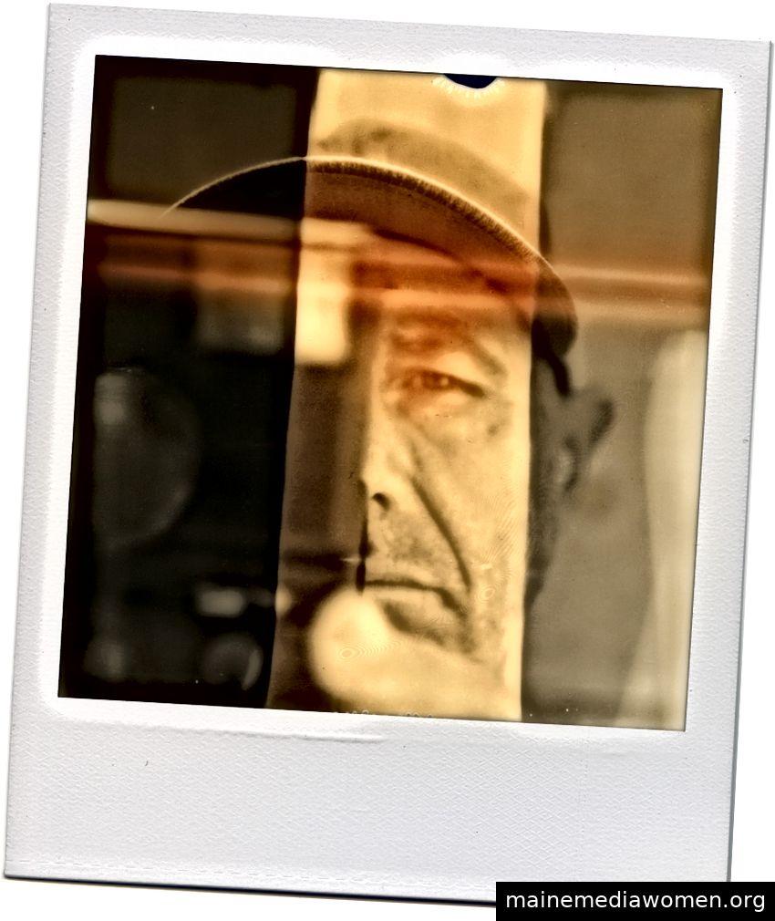 Polaroidporträt von Susanne Melanie Berry