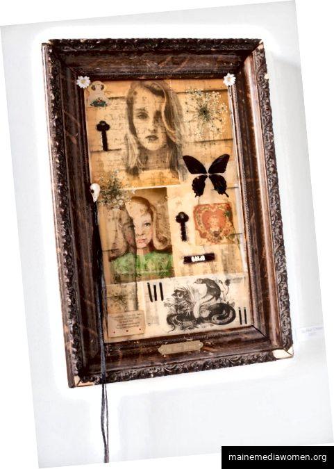 Eine Collage von Amy Putney Koenig.