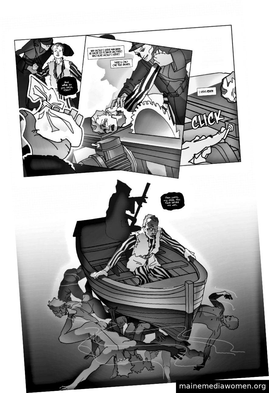 (Geschichte von Casey Allen | Kunst von Ignatius Fluke | Briefe von Alex Giles)