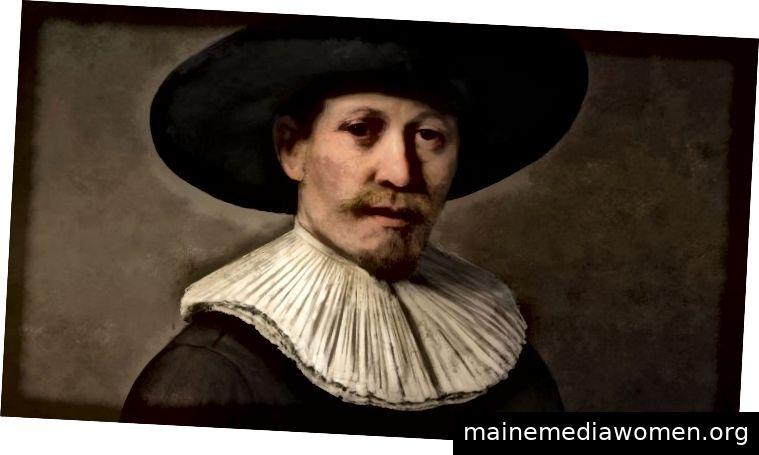 """Dieser """"Rembrandt"""" wurde nicht vom niederländischen Meister gemalt. Erfahren Sie mehr im Video unten."""