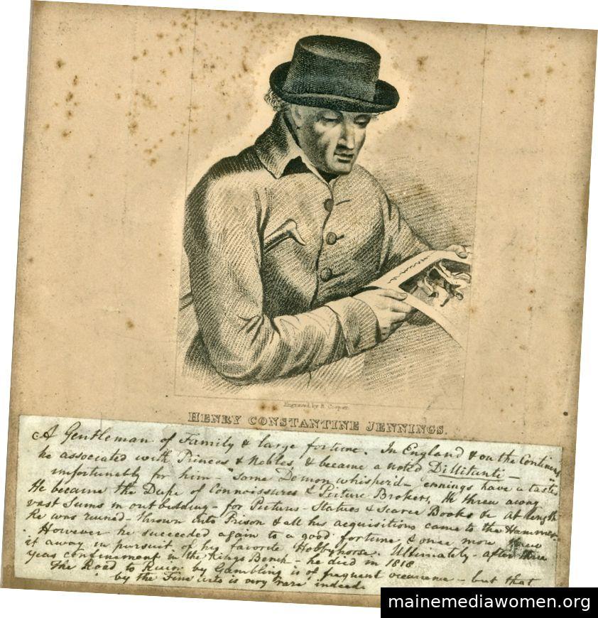 """Henry Constantine Jennings (1731–1819), der """"Herzog der Kenner"""""""