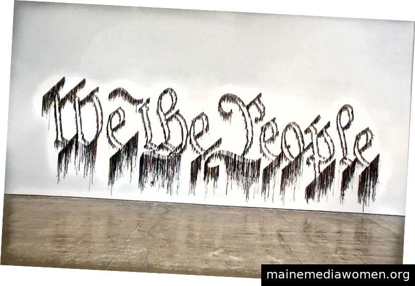 Nari Ward, Wir das Volk. 2011.