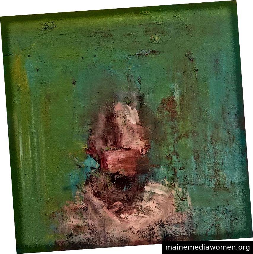 Gemälde von Alex Merritt in der Booth Gallery