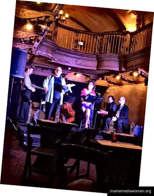 Literarischer Salon mit Jazz im Olympia Theater.