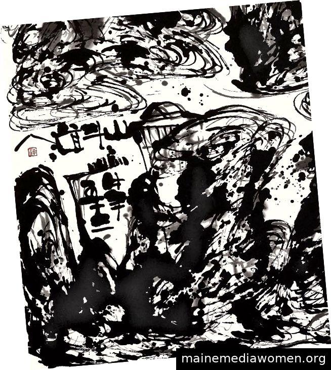 Details, Spiritual Mountains, 2010, von Wesley Tongson