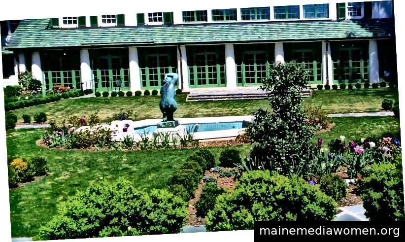Das Reynolda House Museum für amerikanische Kunst
