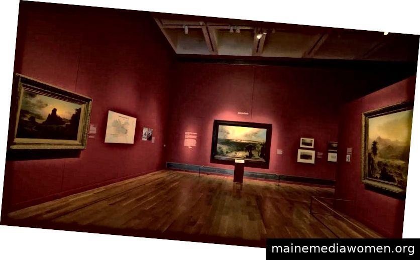 Bewundern Sie die beeindruckende Kunstsammlung im Reynolda House Museum of American Art.