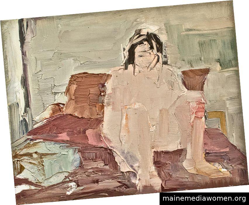 Andrea Patrie, Junge auf seinem Bett