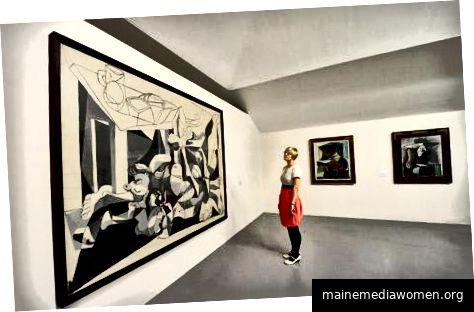 Picasso-Ausstellung von The Telegram enthüllt - Foto: PA