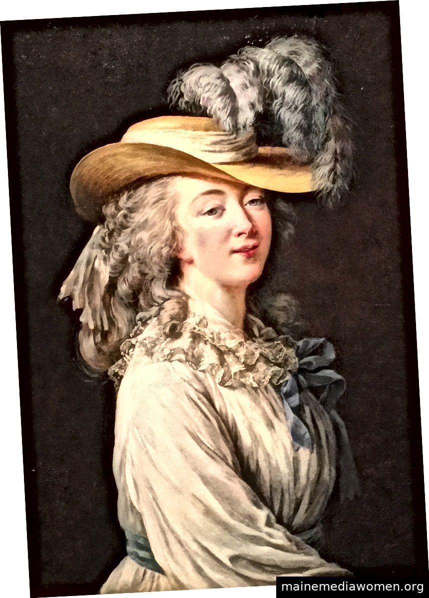 """""""Die Comtesse du Barry mit Strohhut"""", 1781, von Élisabeth Louise Vigée Le Brun. Bild mit freundlicher Genehmigung der MET."""