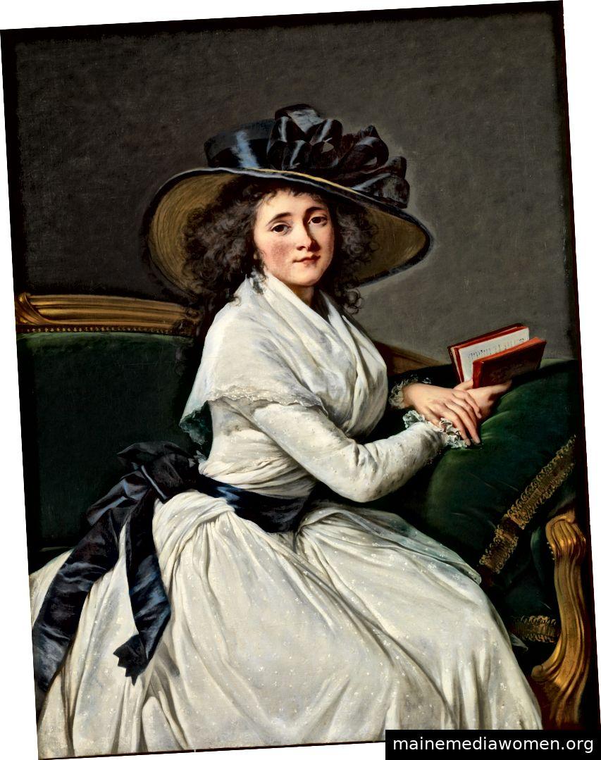 """""""Comtesse de la Châtre"""" von Elisabeth Louise Vigée Le Brun, 1789. Mit freundlicher Genehmigung des Metropolitan Museum of Art."""