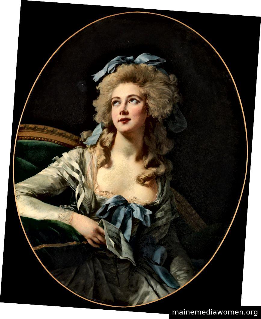"""""""Madame Grand"""" von Elisabeth Louise Vigée Le Brun, 1783. Mit freundlicher Genehmigung des Metropolitan Museum of Art."""