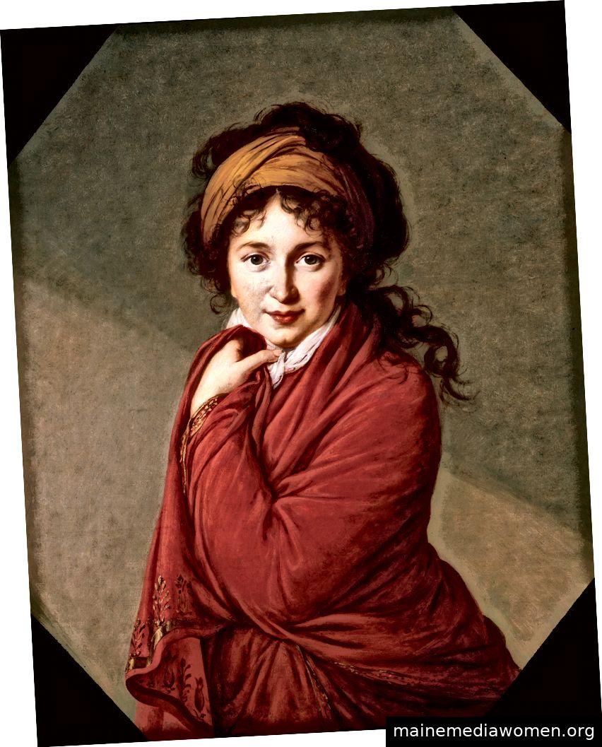 Élisabeth Louise Vigée Le Bruns Porträt der Gräfin Varvara Nikolayevna Golovina, Ca. 1797–1800. Mit freundlicher Genehmigung des Metropolitan Museum of Art und des Henry Barber Trust, des Barber Institute of Fine Arts der Universität von Birmingham.