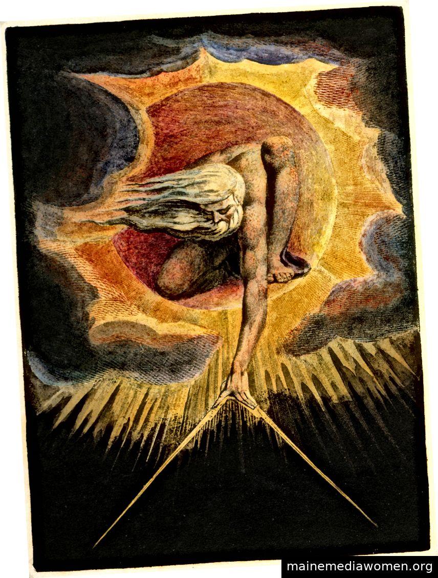 Sie werden nicht den ganzen Tag Bilder wie dieses in Twitter-Fehden verwickeln. Bild: William Blake / Wikicommons