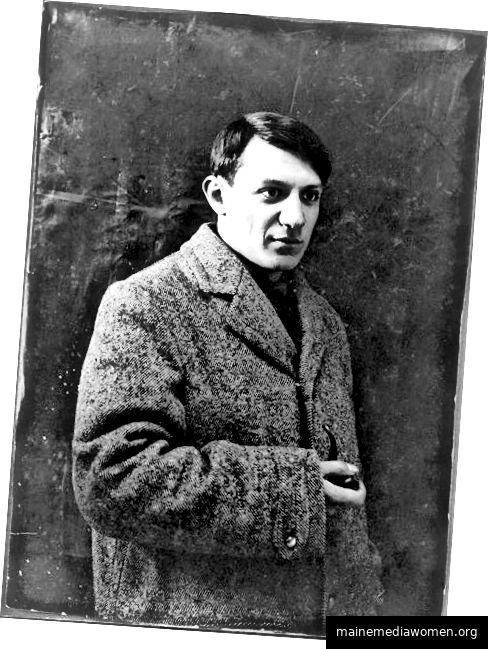 Pablo Picasso wusste ein oder zwei Dinge über Kreativität. Bild: Wikicommons