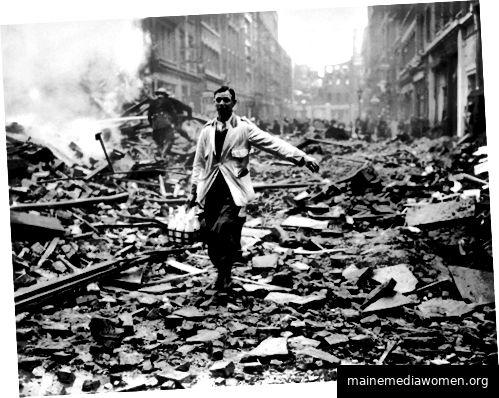 Abbildung 1 - Fred Morely, Der Londoner Milchmann, 1940