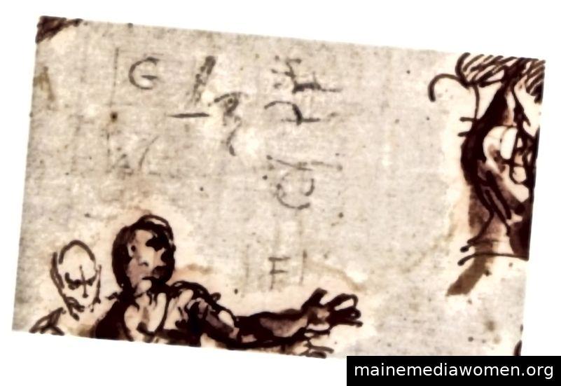 Vielleicht ließ Veronese sich nur unschuldig eine kleine, abgekürzte Einkaufsliste, ohne zu merken, dass er ein unlösbares Rätsel erstellte, das zukünftige Historiker verzweifelt zu lösen versuchen würden.
