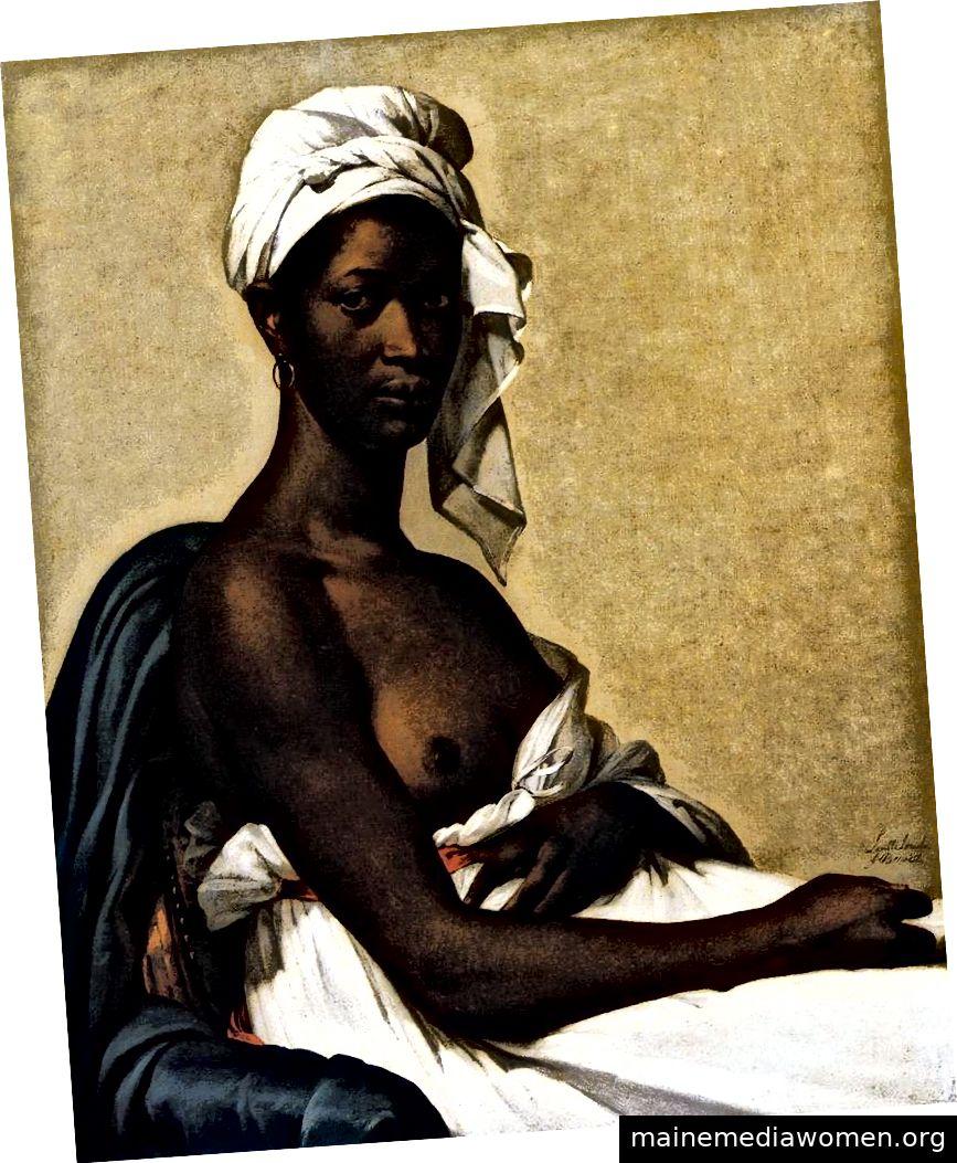 Marie-Guillemine Benoist, Porträt von Madeleine (um 1800). Musée du Louvre.